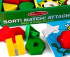 Melissa & Doug Sort, Match, Attach Nuts & Bolts Board 3