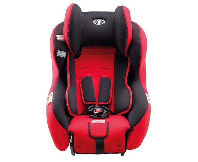 SAAS Sebring Convertible Car Seat - Red/Black   Great daily deals at