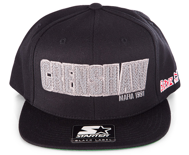 Starter Men s BNTH Crenshaw Snapback - Black  4488f7b6e14