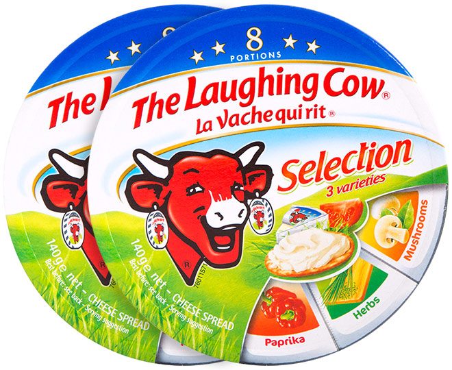 2 x The Laughing Cow Cheese Spread Selection 140g