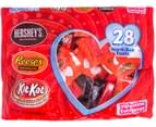 Hershey's Assorted Snack Size Valentine Pack 409g 1