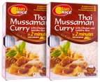 2x SunRice Thai Mussaman Curry w Rice 320g 3