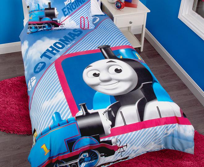 Thomas the Tank Engine Single Quilt Cover Set | Great daily deals ... : thomas single bed quilt cover - Adamdwight.com
