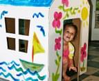 Starlight Cardboard Cubby Colouring House  6