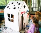 Starlight Cardboard Cubby Colouring House  5