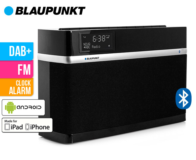 blaupunkt dab digital radio with bluetooth. Black Bedroom Furniture Sets. Home Design Ideas
