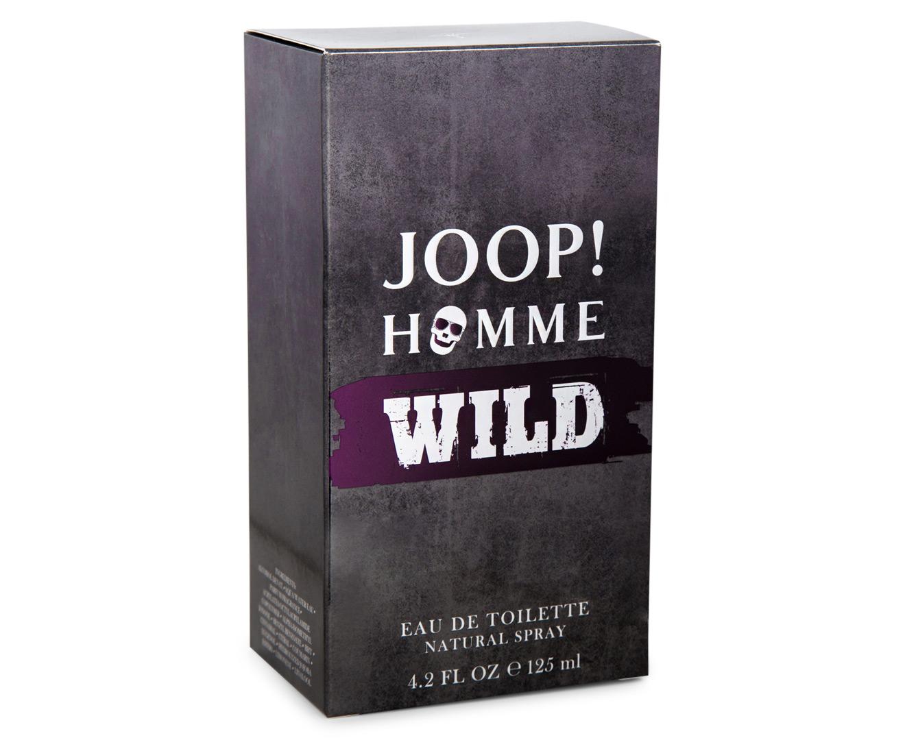 joop homme wild for men edt 125ml great daily deals at. Black Bedroom Furniture Sets. Home Design Ideas