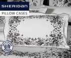Sheridan Wakely Pair Standard Pillowcases - Snow 1
