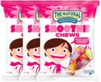 3 x The Natural Confectionery Co. Smoothie Chews 160g 1