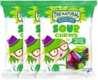 3 x The Natural Confectionery Co. Sour Chews 160g 1