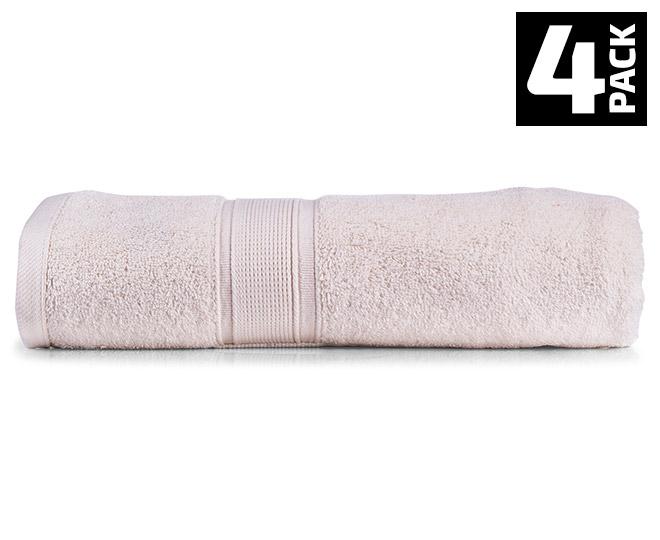 Royal Velvet 650 Gsm Bath Towel 4 Pack Ivory Great
