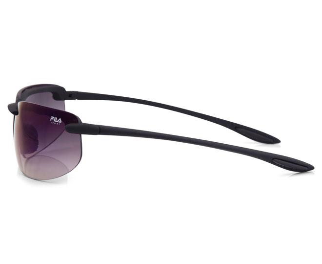 3273568a6a0 FILA Sport Semi-Rimless Sunglasses - Matte Black