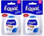 2 x Equal Tablets 100 Tabs 1