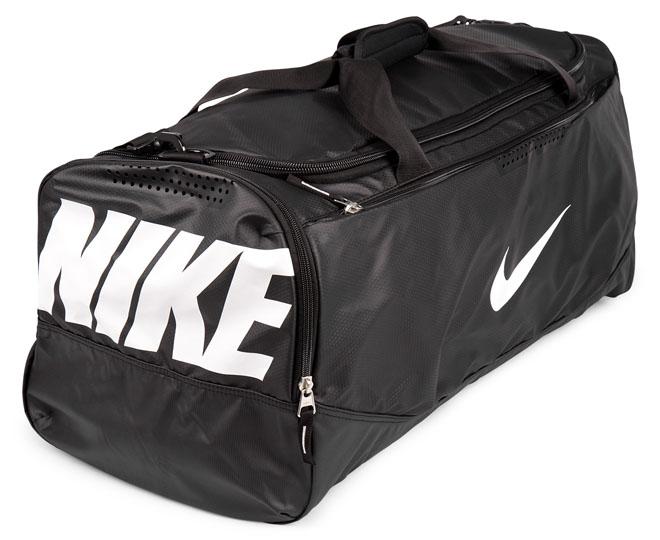 df89e4fbe477 Nike Team Training Max Air Large Duffel - Black ...