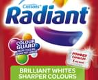 Radiant Brilliant Whites Front & Top Loader Laundry Powder 20 Caps 2