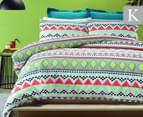 Belmondo Lima King Quilt Cover Set - Multi 1