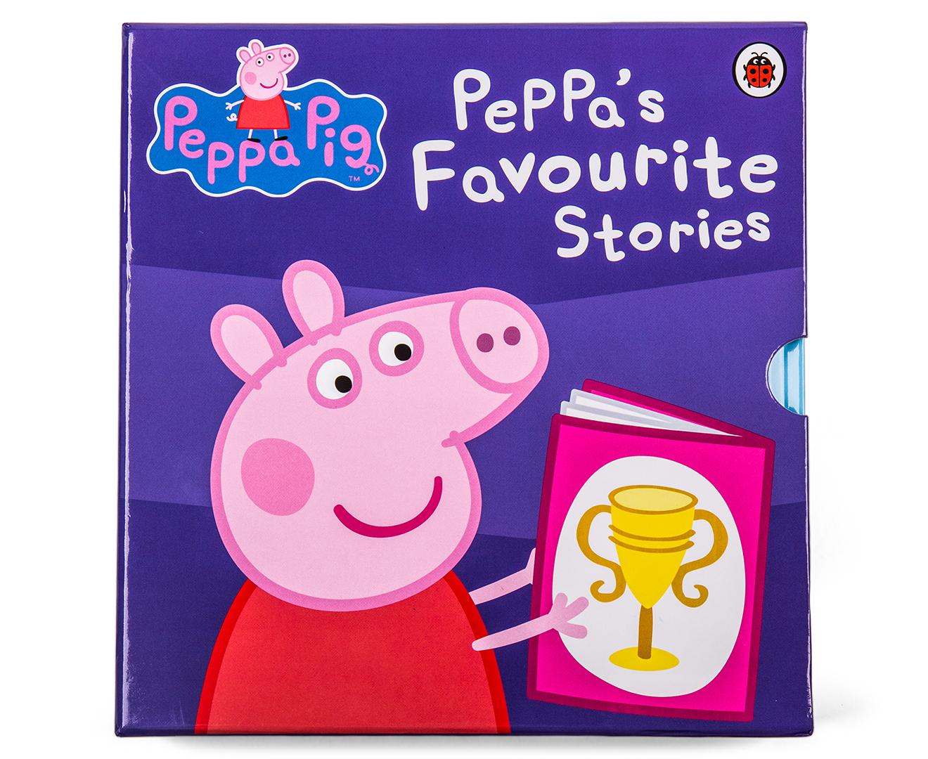 Peppa Pig Peppas Favourite Stories First Sleepover