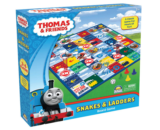 Thomas the Tank Engine Snakes & Ladders Board Game   Great daily ...