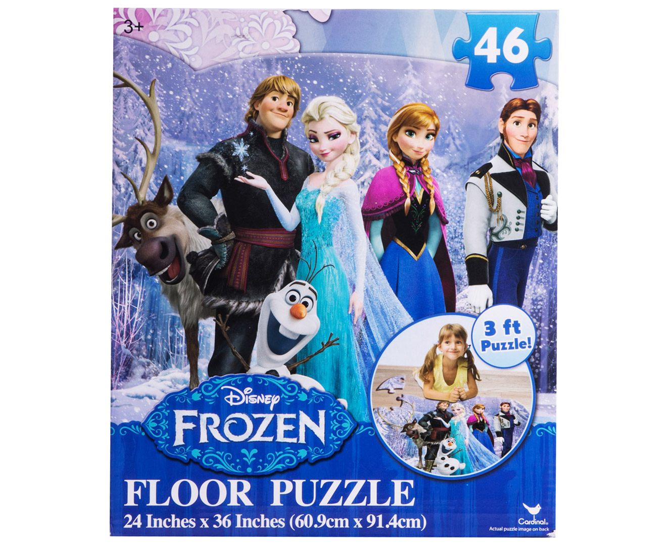 Disney Frozen 46 Piece Floor Puzzle Catch Com Au