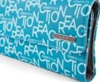 Kenneth Cole Women's Signature Clutch - Blue 5