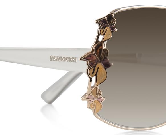 Gold Sunglasses Sunglasses Rose Gold 4