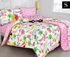 Kooky by Kas Beach Holiday Single Bed Quilt Cover Set 1