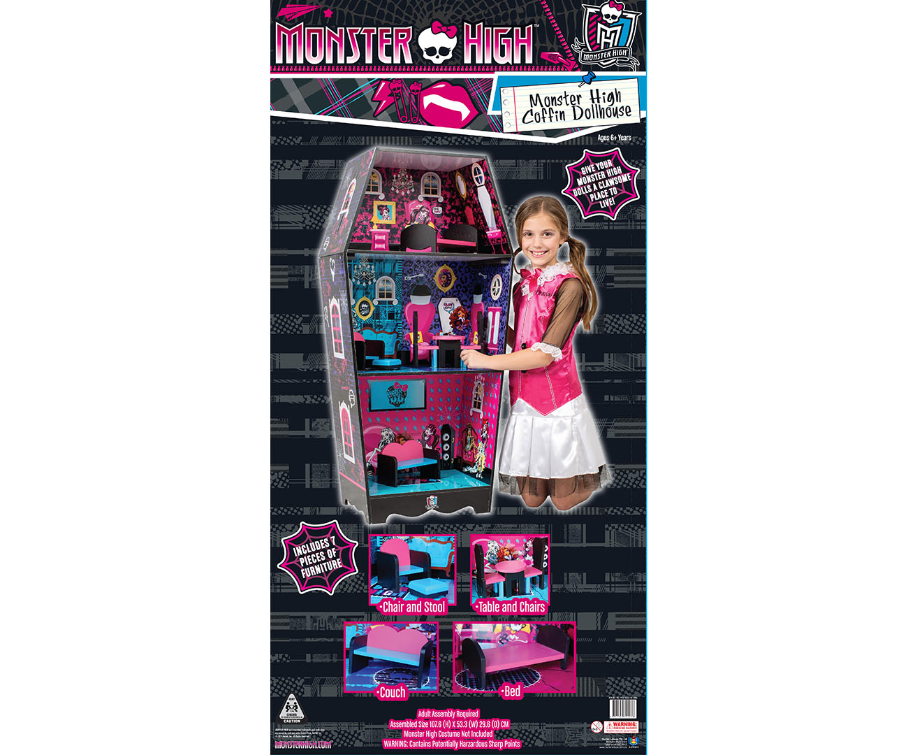 Monster High Coffin Doll House Catchcomau