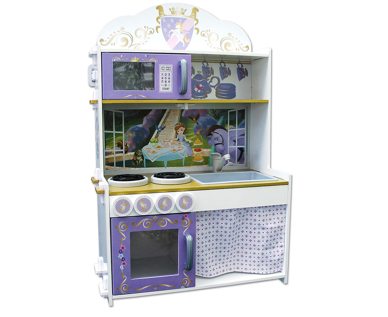 Sofia the first kitchen set great daily deals at for Kitchen set deals