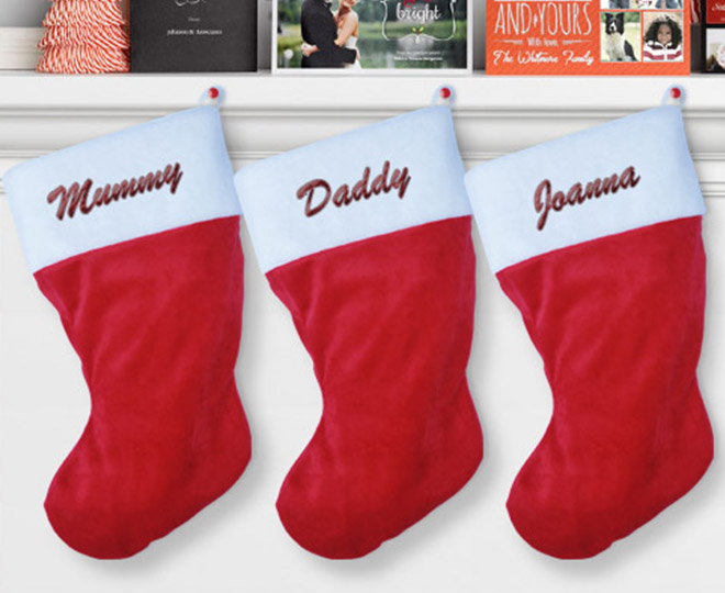 22 For Two Personalised Christmas Stockings