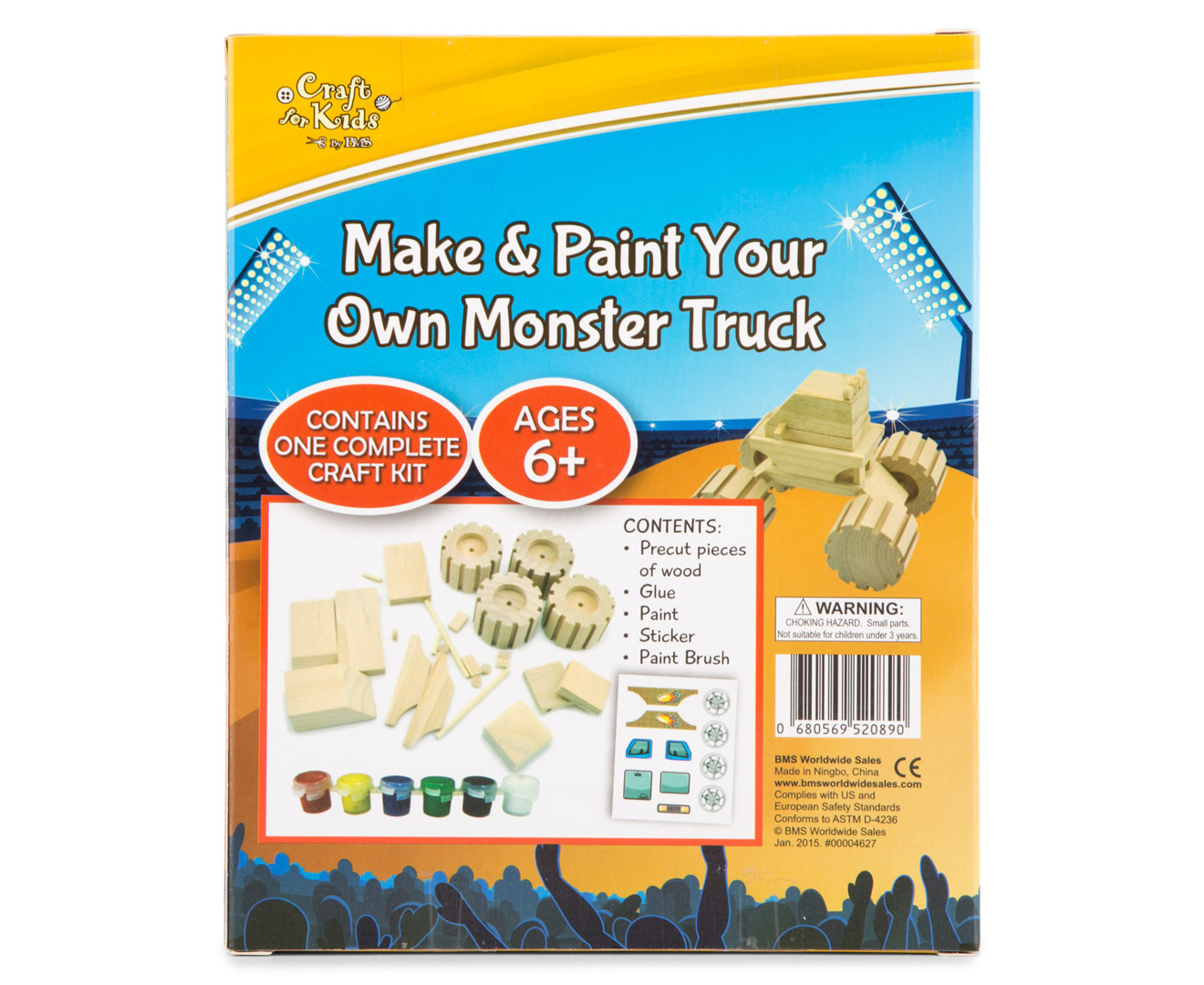 Boy Craft Build Your Own Monster Truck Instructions