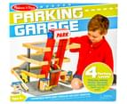 Melissa & Doug Deluxe Wooden Parking Garage 1