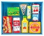 Melissa & Doug Wooden Fridge Food 1