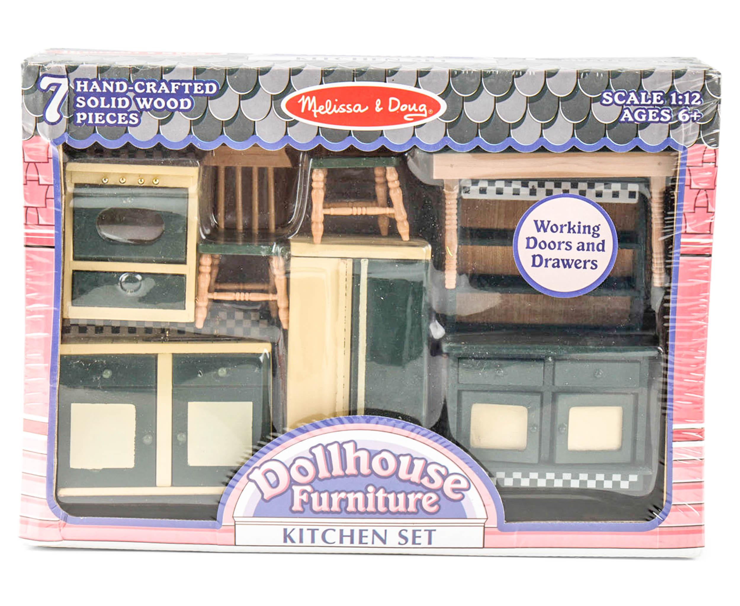 melissa doug dollhouse furniture kitchen set catch com au rh catch com au