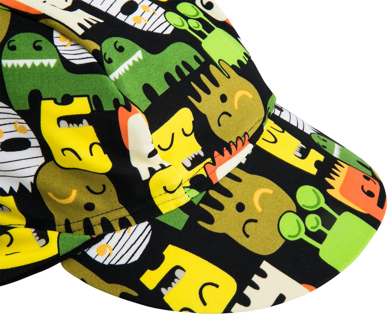 Wave Rat Junior Boys Monster Legionnaires Hat Black