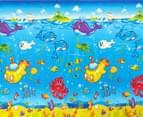 Jolly Kidz Rolly Polly Ocean Themed Mat Ocean 1