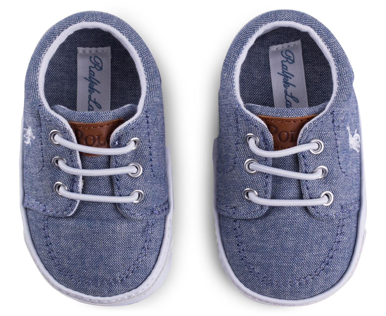 Chambray Blue Shoe Laces