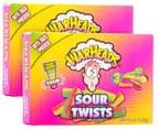 2 x Warheads Sour Twists 99g 1
