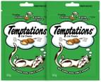2 x Temptations Cat Treats Chicken & Tuna 85g 3