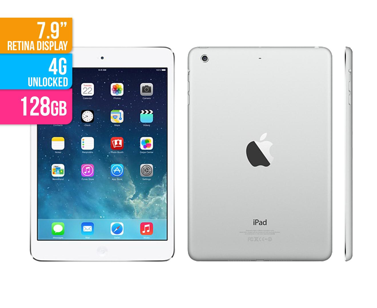 9a714c1f015e5e Apple iPad mini 2 128GB 4G WiFi - Silver