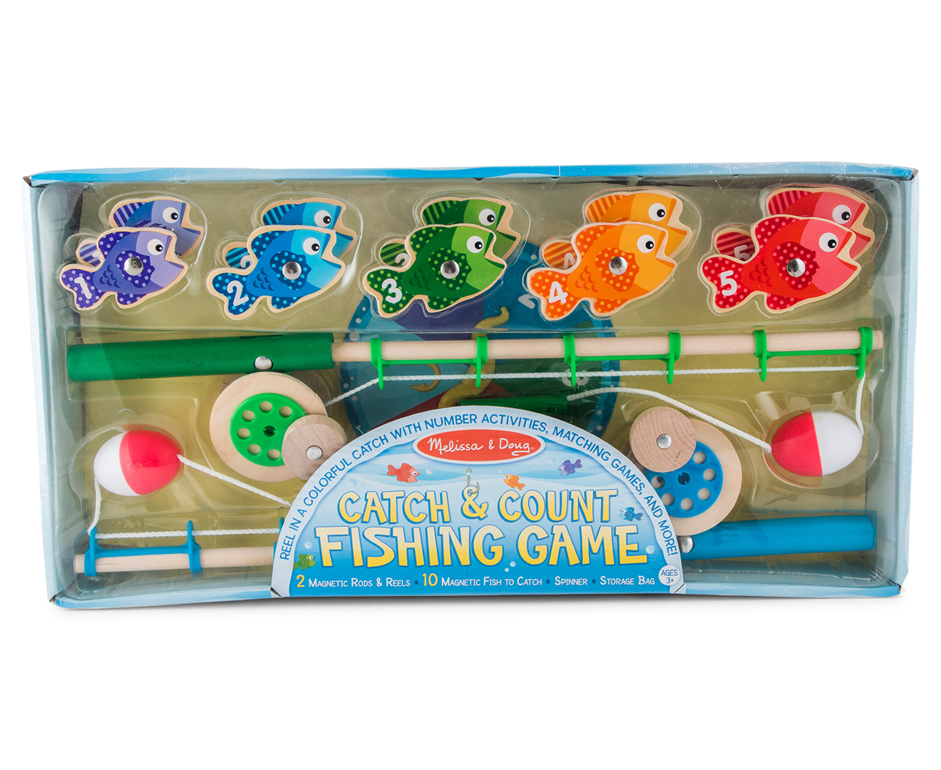 Melissa doug catch and count fishing game great daily for Catch and count fishing game