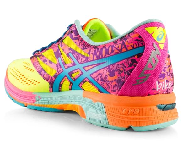 Buy Womens Asics Gel Noosa Tri 10 - Product Asics Women S Gel Noosa Tri 10 Yellow Turquoise Pink 336671