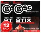 2 x BSc High Protein Stix Cherry Bite 120g 6pk 1