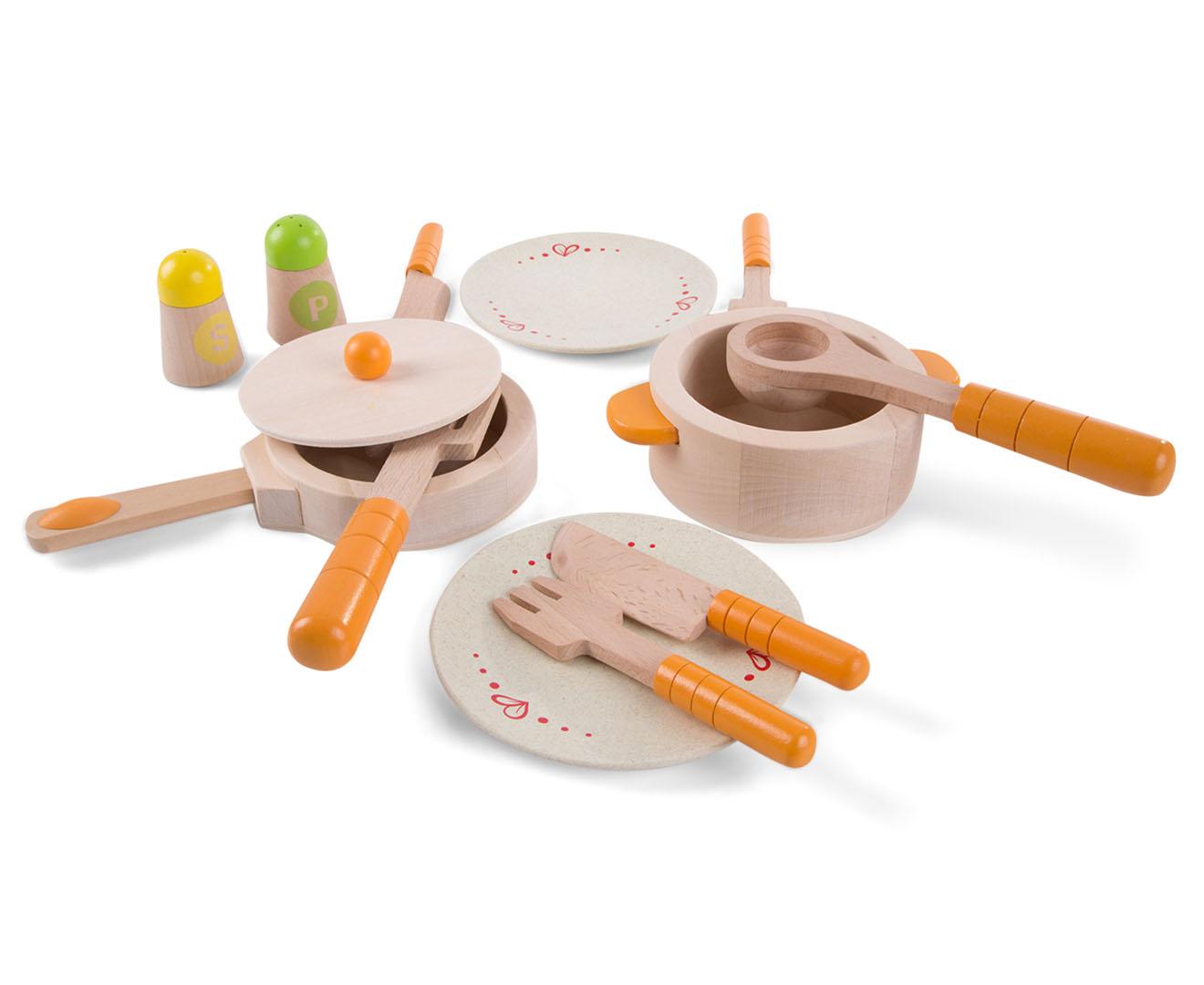 Hape gourmet kitchen starter set ebay for Kuchen starterset