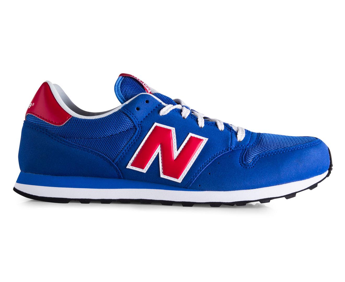 new balance 500 blue