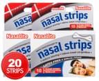 2 x NasaLite Nasal Strips 10pk 1