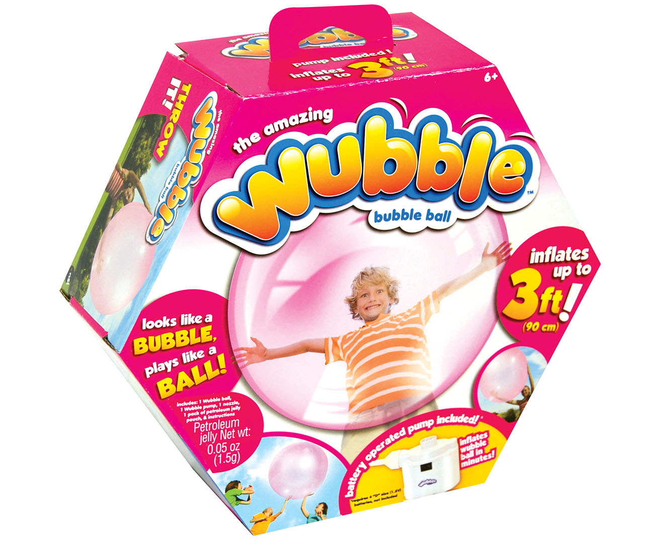 The Amazing Wubble Bubble + Air Pump - Pink Great daily deals at Australia s favourite ...