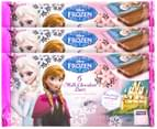 3 x Disney Frozen Milk Choc Bars 72g 6pk 1