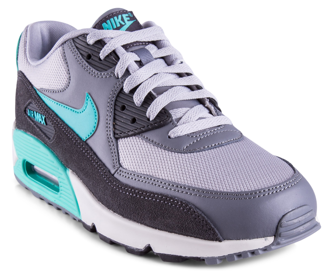reputable site 7f04b b4523 Nike Men's Air Max 90 Essential Shoe - Wolf Grey/Hyper Jade | Catch.com.au