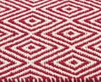 Diamond 225 x 155cm Rug - Red 4