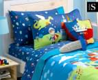 Freckles Good Knight King Single Sheet Set - Multicoloured 1